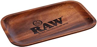 RAW Small Wood Rolling Tray-27,5 x 17,5 cm, hout, bruin, M