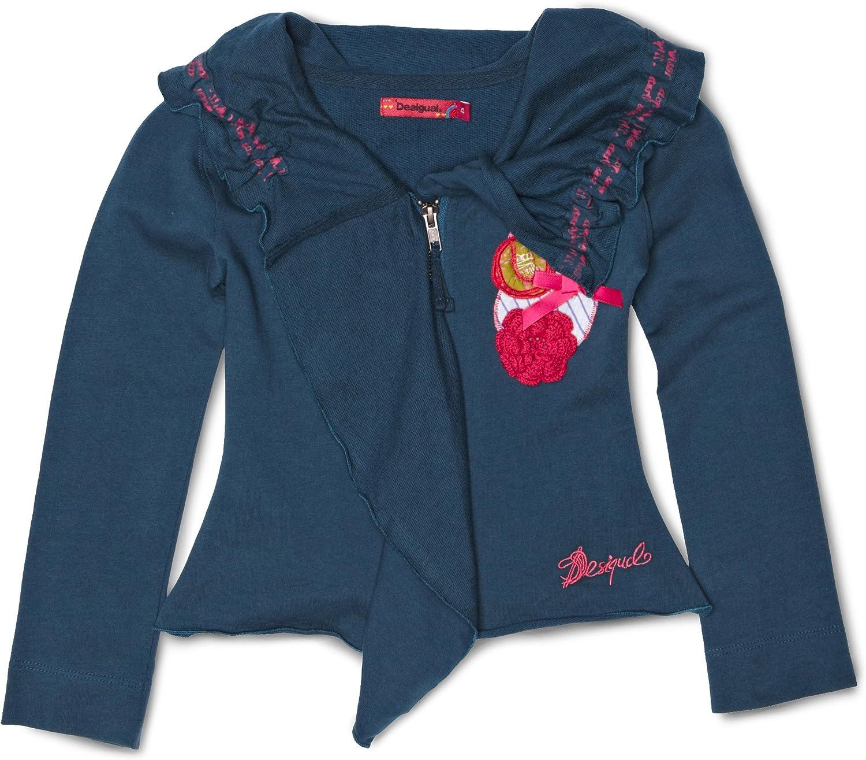 Desigual Little Girls' Fitted Fleece Jacket