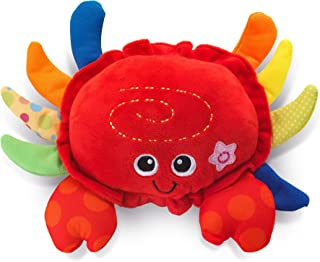 KiddoLab Cute Plushies Crab - Musical Crawling Toy with Touch Sensor Button, 5 Nursery Rhymes Songs & Fun Sound Effects - ...
