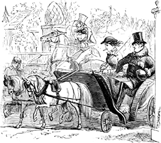 Illustration Print - 'Out Hunting Again' by John Leech (1892), 4
