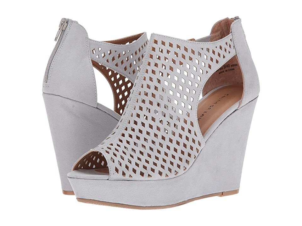 Chinese Laundry Indie Wedge (Grey/Blue) Women
