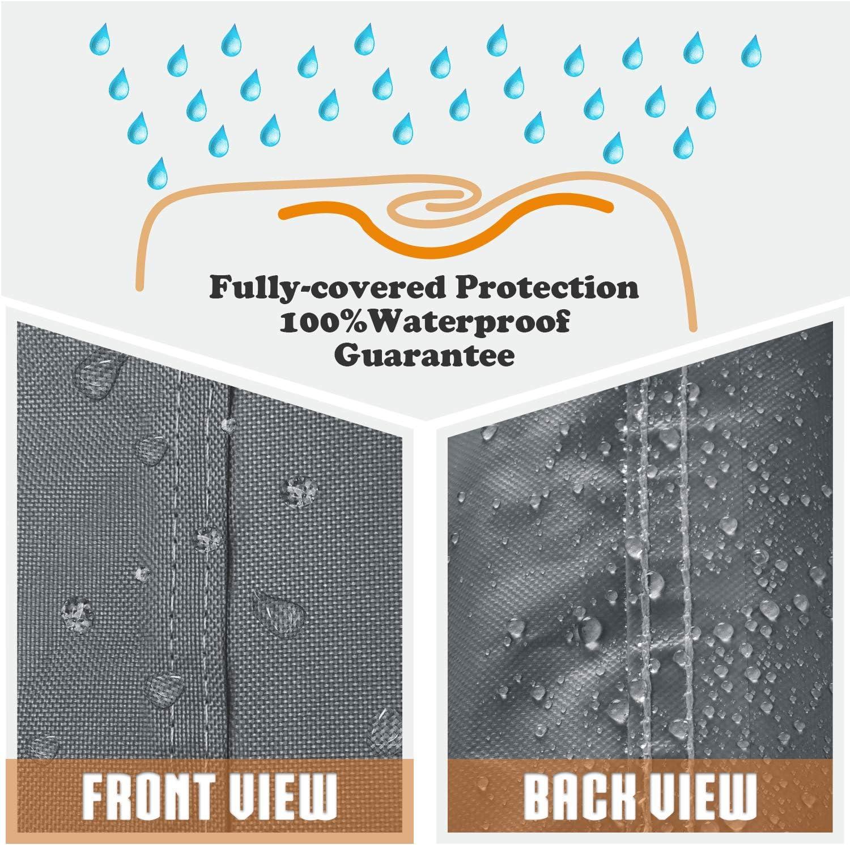 Leader Accessories Durable Universal Waterproof Generator Cover 31 Lx 29 Wx 28 H, Black