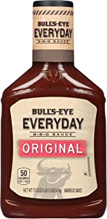 Bull's Eye Everyday Original Barbecue Sauce, 17.5 oz Bottle (Pack of 12)
