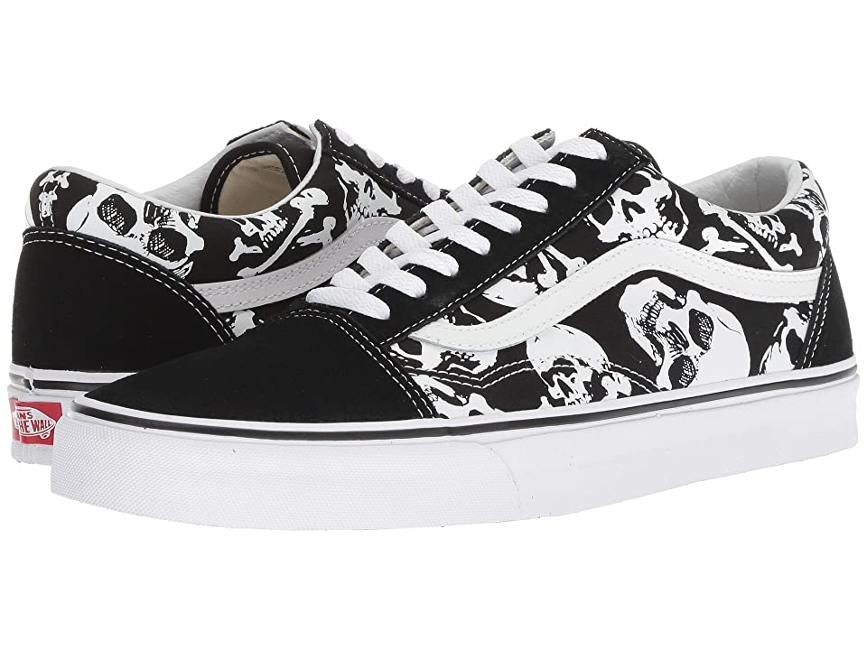Vans Old Skooltm ((Skulls) Black/True White) Skate Shoes