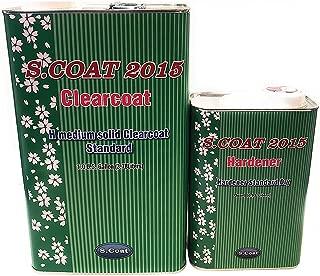 S.COAT Medium Solid Clear Coat GAL W/Slow Hardener 4:1