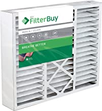 FilterBuy 20x25x5 Honeywell FC100A1037 Compatible Pleated AC Furnace Air Filters (MERV 8, AFB Silver). Replaces Honeywell 203720, FC35A1027, FC100A1037, FC200E1037, Carrier FILXXCAR-0020. 1 Pack.