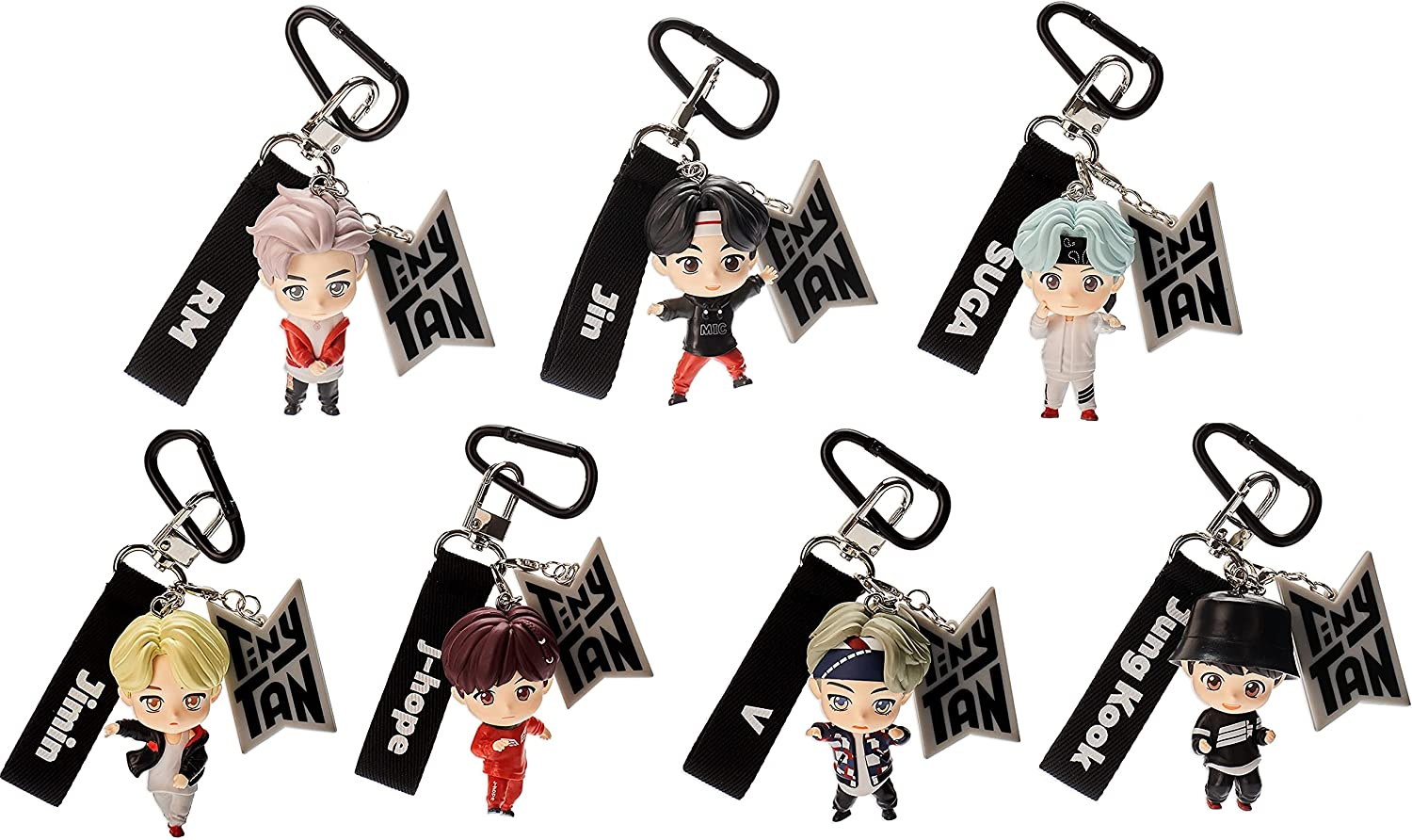 BTS Tinytan Figures Keychain Keyring Merchandise OFFicial mail order Lowest price challenge Bag Kpop Access