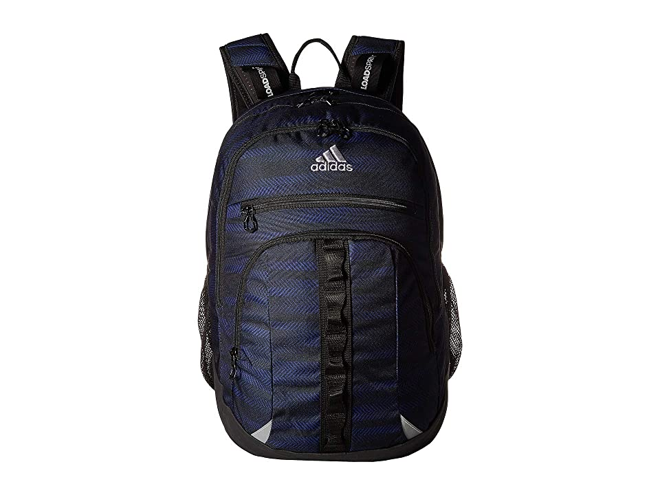 adidas Prime III Backpack (Myster Ink Ratio/Black/Grey Two) Backpack Bags