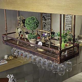 HZWLF Casier à Verre à vin, étagère Porte-Verre à vin, casier à Verre à Champagne, casier à Verre casier à vin, gobelet en...
