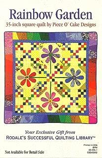 Rainbow Garden Quilt Pattern By Piece O'Cake Designs