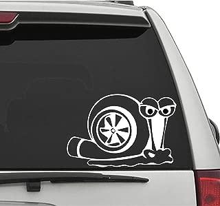 Seek Racing Turbo Snail 2 Decal CAR Truck Window Bumper Sticker Boost Low Euro Illest JDM KDM Funny