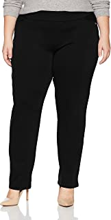 Chic Classic Collection Women's Plus Size Knit Pull-on Pant
