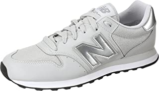 New Balance Stitched Detail Contrast Side Logo Lace-Up Shoes For Women 40.5 EU
