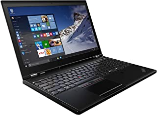 联想 ThinkPad P51 20HH000CUS 15.6 英寸 - 3840 x 2160 - 平面内开关 (IPS) - 英特尔酷睿 i7-7820HQ 四核 2.90 GHz - 16 GB DDR4 SDRAM - 512 GB SSD - Windows 10 Pro 64 位(英语)