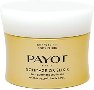 Payot Gommage Or Élixir - Enhancing Gold Body Scrub, 6.7 Fl Oz