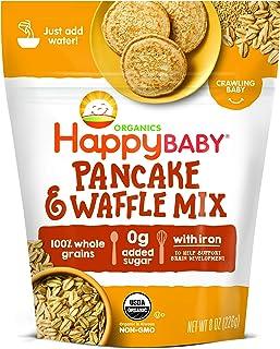 Happy Baby Organics Pancake & Waffle Mix, 8 Ounce (Pack of 1)