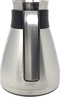 Ninja 43oz 6-Cup Stainless Steel Double Wall Thermal Carafe for CF085 CF086 CF087 Coffee Bar Brewer (Cup Only, No Lid)