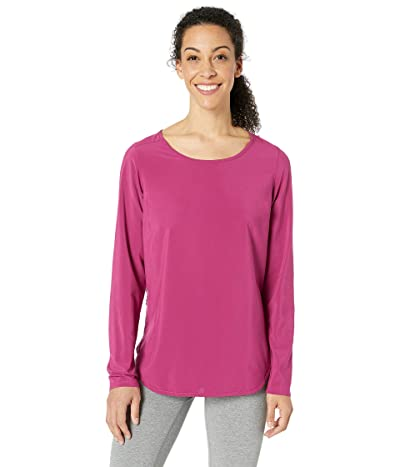 Columbia Place To Placetm Sun Shirt (Wine Berry) Women