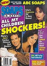 Susan Lucci, John & Eva LaRue Callahan, All My Children, Elisabeth Rohm - December 2, 1997 ABC Soaps in Depth Magazine [Soap Opera]