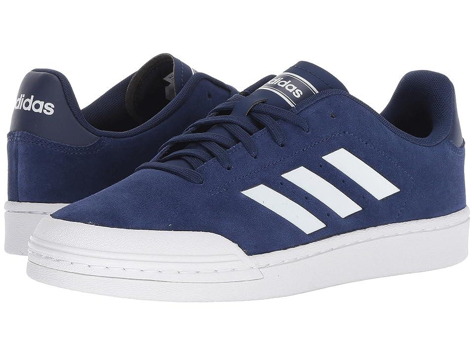 adidas Court 70s (Dark Blue/White/White) Men
