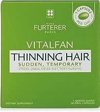 Rene Furterer VITALFAN Dietary Supplement - Sudden, Temporary Thinning Hair, Plant-Based, Biotin, Drug Free, 30 Capsules