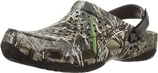 Crocs Mens Swiftwater Deck Realtree Max-5 Swiftwater Deck Realtree Max-5 Brown Size:
