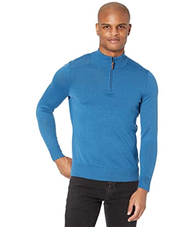 Smartwool Sparwood 1/2 Zip Sweater (Neptune Blue Heather) Men