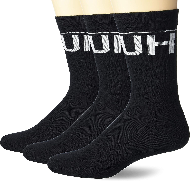 BOSS mens 2-pack Back Logo Combed Cotton Socks