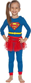 Supergirl Tutu Costume Pajama Set