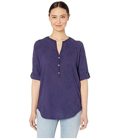 Royal Robbins Oasis Elbow Sleeve Tunic II (Ink Blue) Women