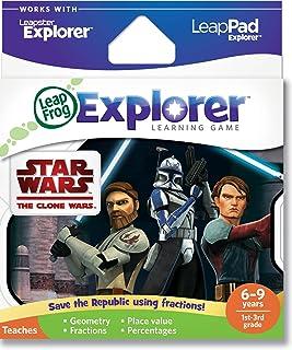 LeapFrog Explorer Learning Game: Star Wars: The Clone Wars (