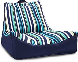 Big Joe FBA_2180921 Captain's Float, Blue Cozumel Stripe