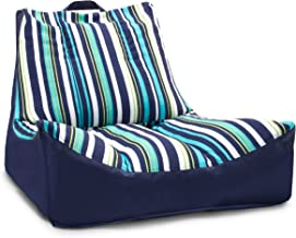 Big Joe FBA_ Captain's Float, Blue Cozumel Stripe