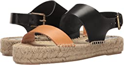 Bicolor Platform Sandal