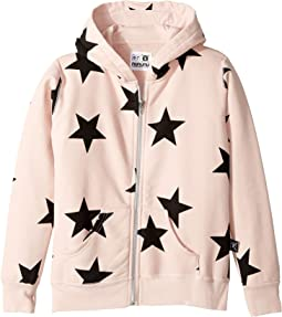 Nununu - Star Zip Hoodie (Little Kids/Big Kids)