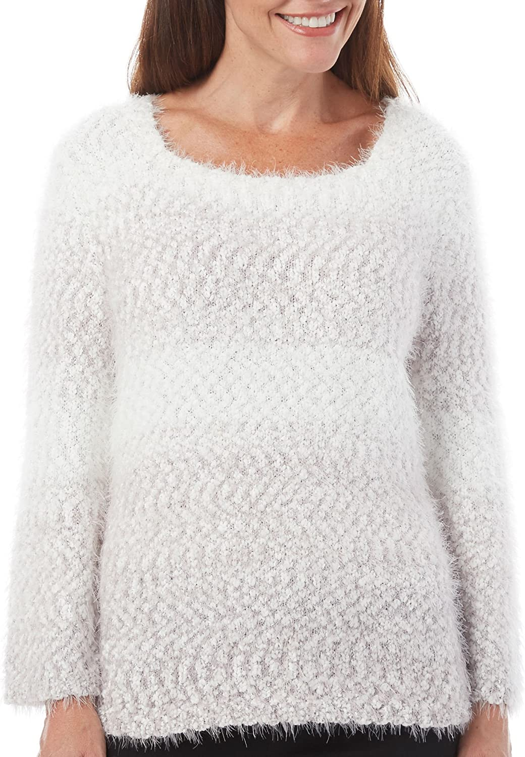 Alfred Dunner Petite Northern Lights Ombre Sweater