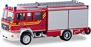 herpa 094740 Man M2000 Dachau Fire Brigade, Miniature Vehicle for retouching and Collection