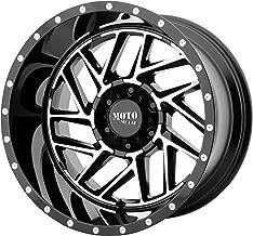 20x10 Moto Metal MO985 Breakout 5x139.7-18 Offset (4.79 inch backspace) 78 Hub - Gloss Black Machined - MO98521085318N [ ✅ Authorized Dealer]