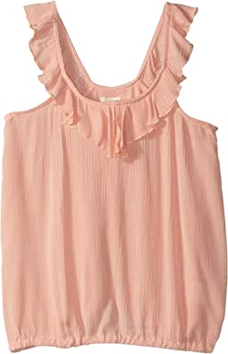 Ruffles Sleeveless Top (Big Kids)