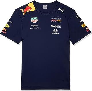 Red Bull Racing Herren Aston Martin Team Tee 2019, XL T-Shirt, Blau Navy Navy, X-Large Herstellergröße