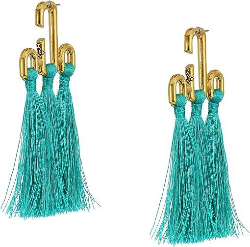 Turquoise Tassel