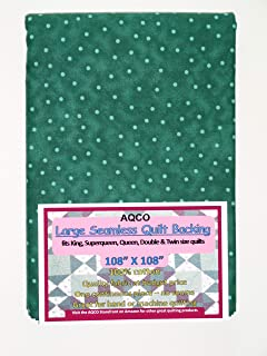 Quilt Backing, Large, Seamless, from AQCO, Green, C49809-A11