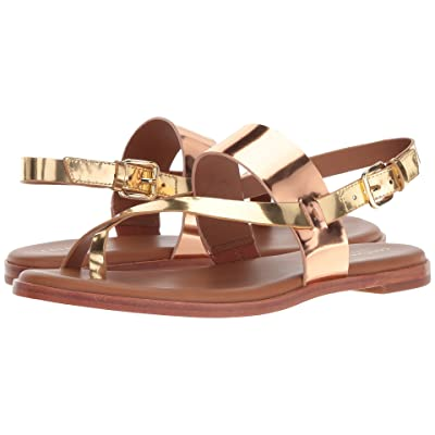 Cole Haan Anica Thong Sandal (Rose Gold/Gold Specchio) Women