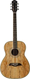 Oscar Schmidt OF2SM-R-U 6-String Acoustic Guitar - Spalted Maple