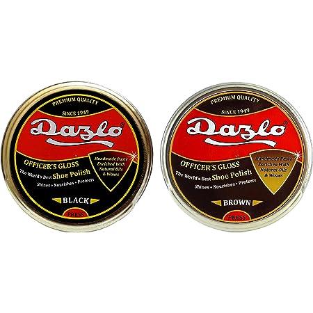 Dazlo Handmade Shoe Polish - Black (40g) + Brown (40g)
