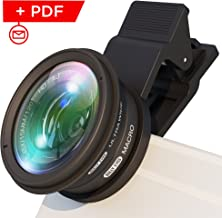 BullyEyes - Phone Camera Lens Attachment : Wide Angle and Macro for iPhone, Samsung, Huawei. For Outdoors Photography and ...
