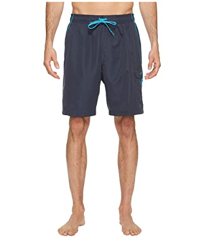 Speedo Marina Volley Swim Trunk (Grey/Blue) Men