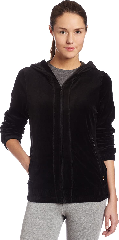 Fila Women's Hooded Max 74% OFF Jacket Velour Spasm price