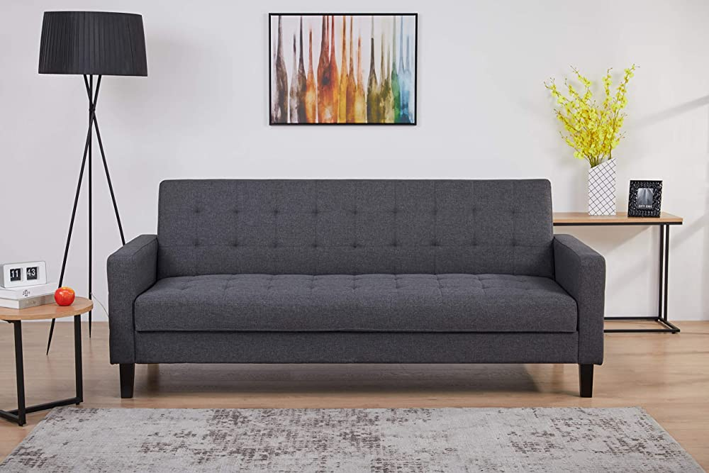 Amazon basics - divano letto a 3 posti LAF-174N100S-1-P3 NM-3
