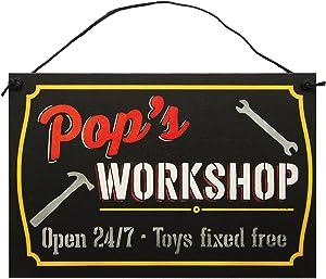 Father's Workshop Sign by StudioR12   7.5